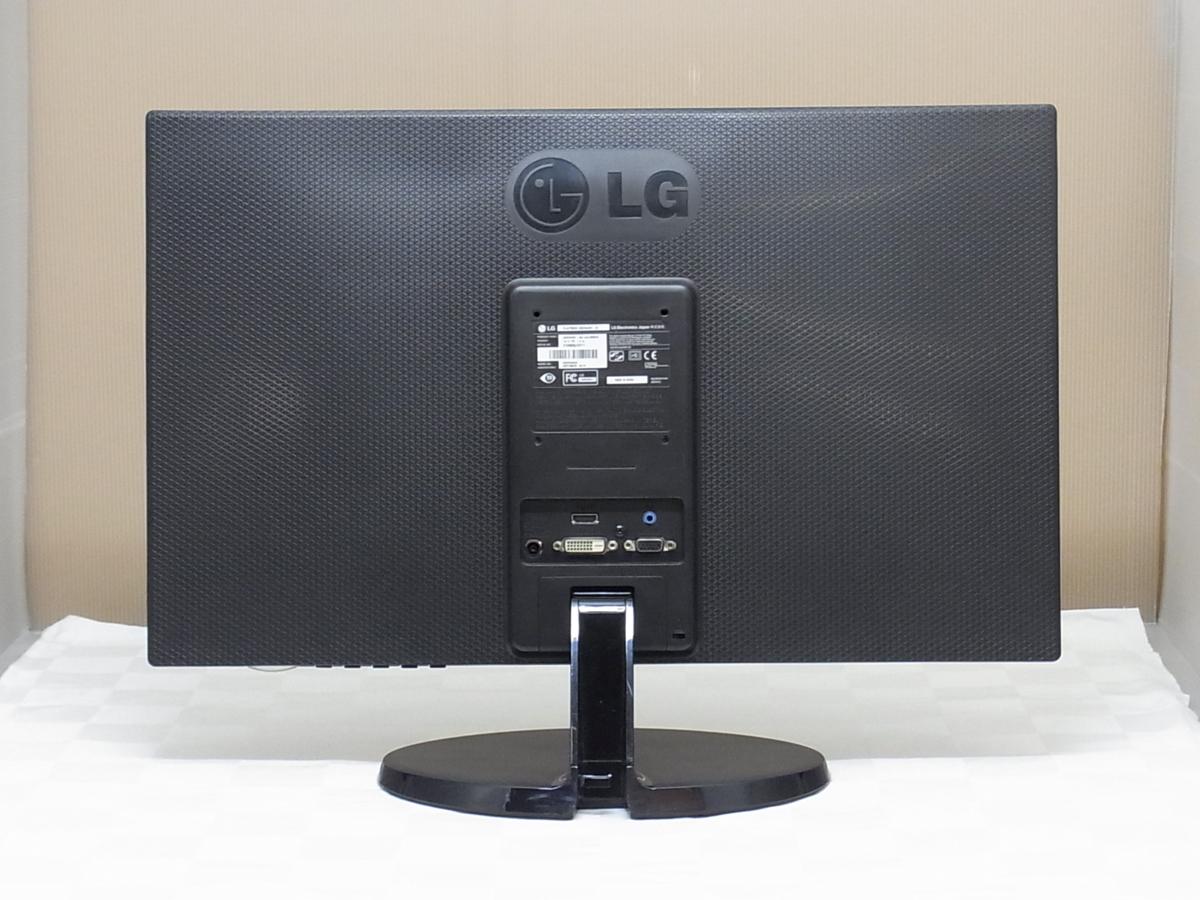 訳あり HDMI対応 フルHD 23インチ LG 23EN43V-B LED 液晶モニター スピーカー内蔵 入力端子 VGA/DVI/HDMI 【埼玉発送】_画像4