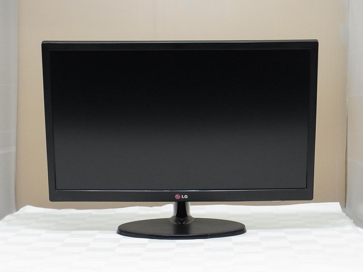 訳あり HDMI対応 フルHD 23インチ LG 23EN43V-B LED 液晶モニター スピーカー内蔵 入力端子 VGA/DVI/HDMI 【埼玉発送】_画像2