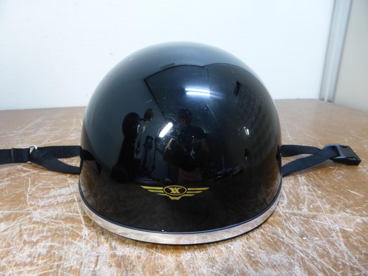 ★☆OGK IOCA-C21 半ヘルメット 黒 57-59cm☆★_画像2