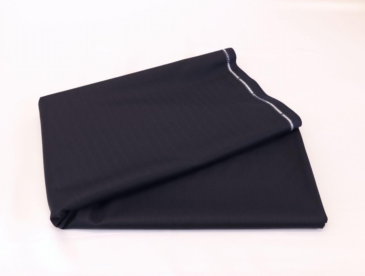 ■スキャバル幻の「エクスプレッション」濃紺織柄・服地価格200万円・未体験の心地良さです。_画像6