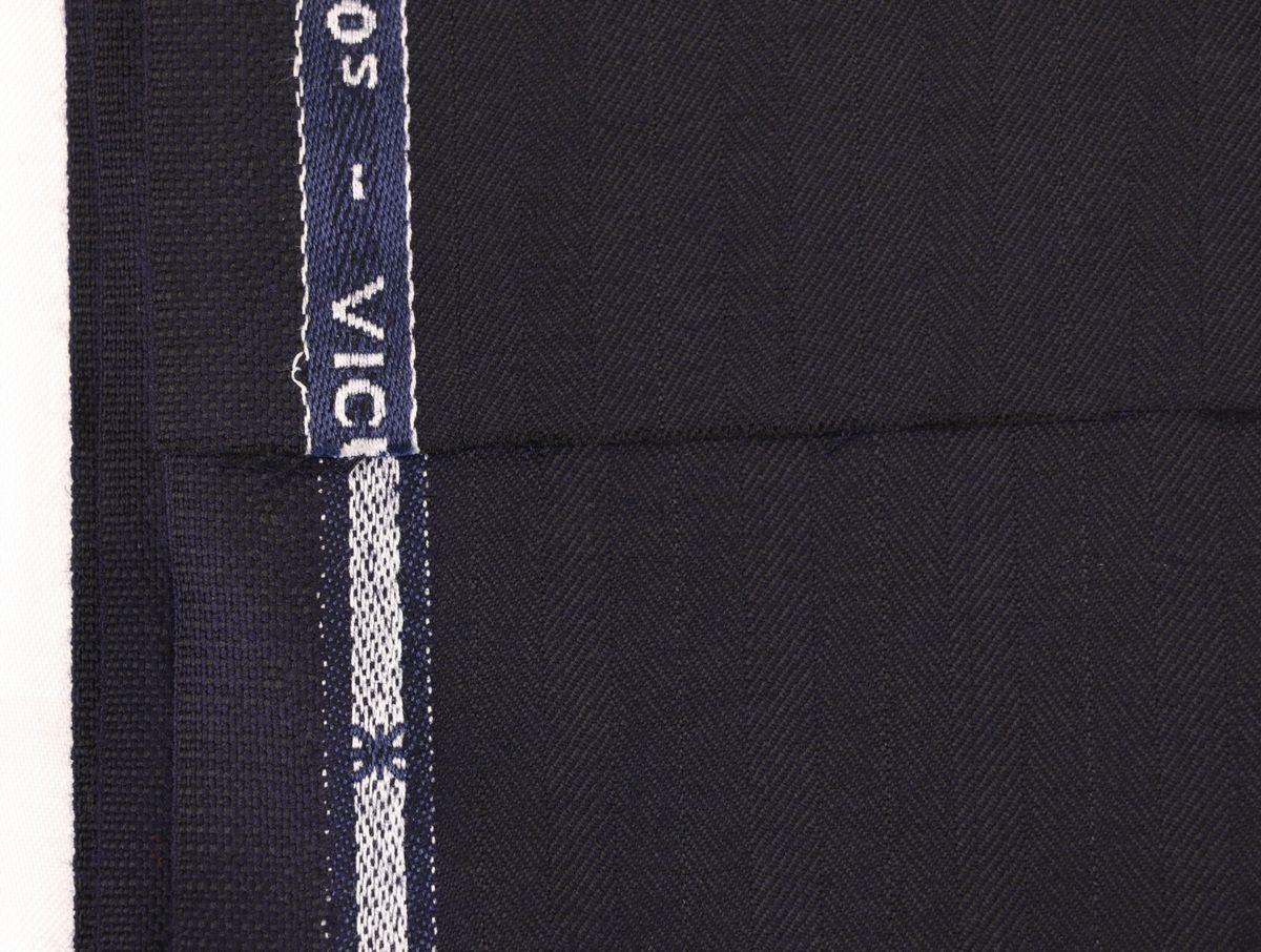 ■スキャバル幻の「エクスプレッション」濃紺織柄・服地価格200万円・未体験の心地良さです。_画像7