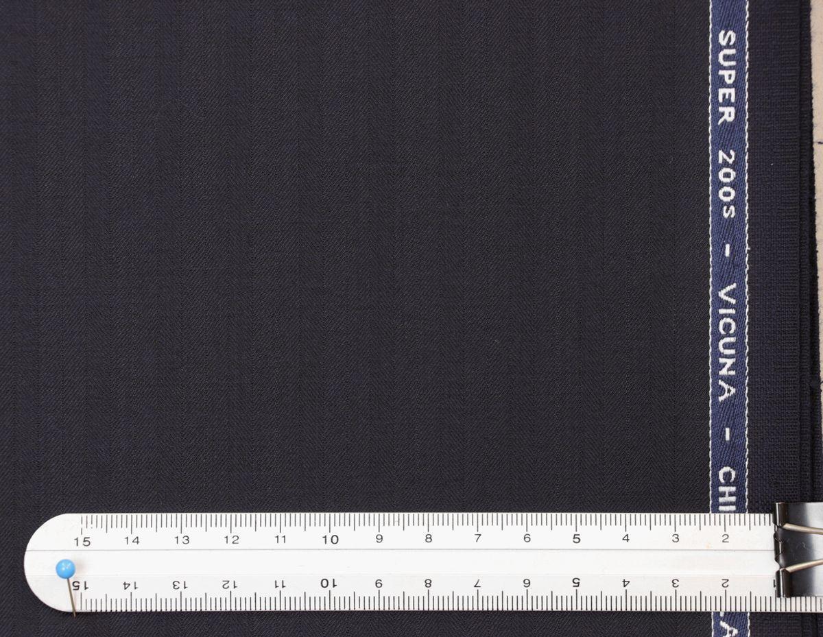 ■スキャバル幻の「エクスプレッション」濃紺織柄・服地価格200万円・未体験の心地良さです。_画像3