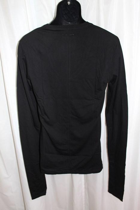 エイチワイエム hym メンズ 長袖 Tシャツ ブラック Mサイズ 日本製 新品 h10s18004_画像3