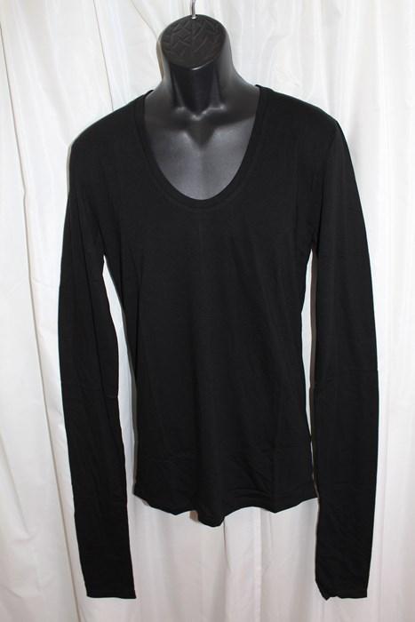 エイチワイエム hym メンズ 長袖 Tシャツ ブラック Mサイズ 日本製 新品 h10s18004_画像1