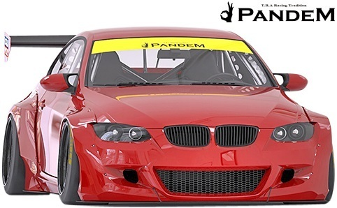 【M's】E92 BMW 3シリーズ 前期用 (2006y-2010y) PANDEM ワイドボディキット 10点//FRP TRA京都 パンデム エアロ フルキット フルエアロ_画像2