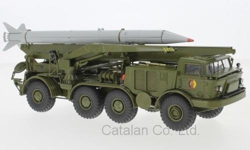 1/43 ジル ソビエト ソヴィエト 軍用 自走砲 ZIL 135 BAZ 135 TLF 9T29 FROG-7 Luna-M NVA Raketentransportfahrzeug Premium 梱包サイズ80_画像1