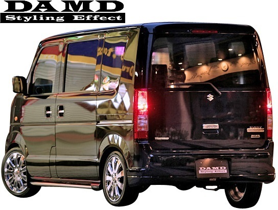 【M's】SUZUKI エブリィ DA64W/DA64V (-2010.4) DAMD フロントバンパー (フロントグリル付)//FRP ダムド エアロ バンパー ワゴン バン_画像3