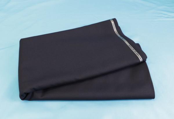 ■最高級カシミア100%のスーツ生地!名門「ミノバ社」の濃紺無地・羽衣のように気持ちいい。_画像5