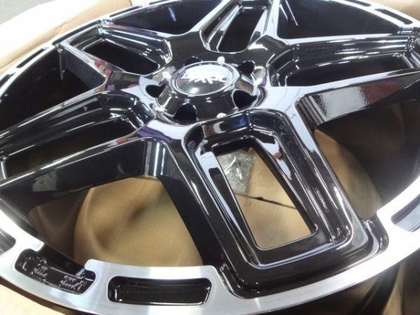 ■新品4本SET価格■LEXXEL ANTHEM BLK/RIMPOL■ベンツ Gクラス ゲレンデ G65 G63 G550 G350 ■当社指定輸入タイヤ 305/40-22■_画像4