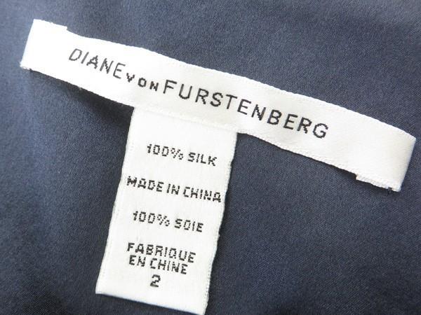 ◇【DIANE von FURSTENBERG ダイアン・フォン・ファステンバーグ】HAZARRA シルクワンピース 2_画像4
