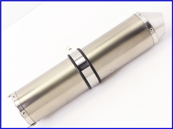 【M3】良品♪テックサーフ スーパーモト トレック チタン サイレンサー♪50.8mm♪YZF-R1/ZRX400/ゼファー/CB400SF/ZZR1100/GPz900R♪_画像3