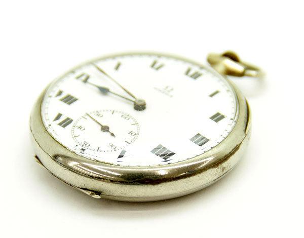 OMEGA/オメガ 懐中時計 スモールセコンド ローマン 手巻き 動作品 アンティーク/ビンテージ_画像3