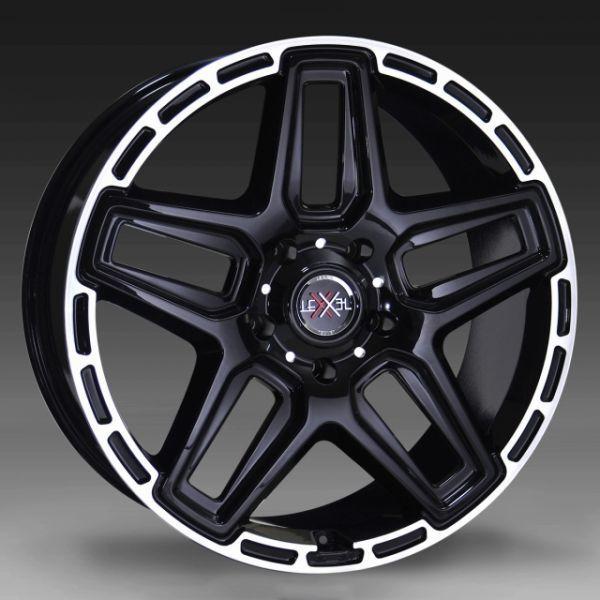 ■新品4本SET価格■LEXXEL ANTHEM BLK/RIMPOL■ベンツ Gクラス ゲレンデ G65 G63 G550 G350 ■当社指定輸入タイヤ 305/40-22■_画像2