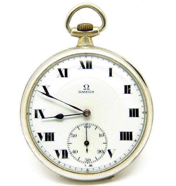 OMEGA/オメガ 懐中時計 スモールセコンド ローマン 手巻き 動作品 アンティーク/ビンテージ_画像2