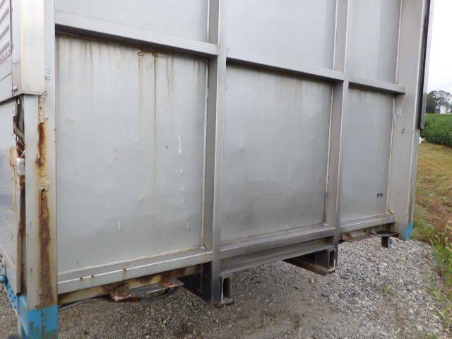 8103-600-m ★ コンテナ 倉庫 物置 道具箱 保冷バン 冷凍箱 アルミバン アルミウイング ワイド_画像9