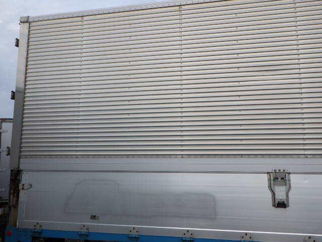 8103-600-m ★ コンテナ 倉庫 物置 道具箱 保冷バン 冷凍箱 アルミバン アルミウイング ワイド_画像3