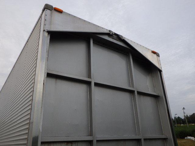 8103-600-m ★ コンテナ 倉庫 物置 道具箱 保冷バン 冷凍箱 アルミバン アルミウイング ワイド_画像8