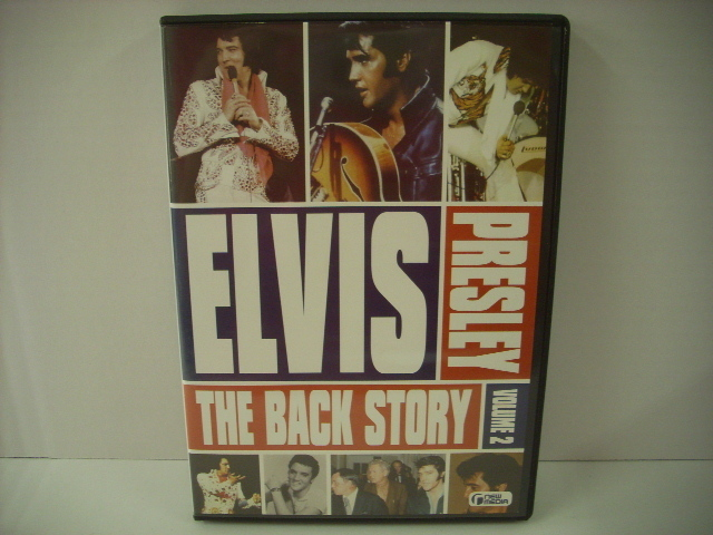 ■DVD ELVIS PRESLEY / THE BACK STORY VOLUME 2 エルヴィス・プレスリー バックストーリー_画像1