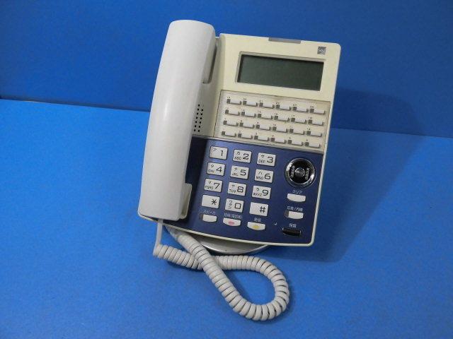 Ω ZT1 7362◆) 保証有 サクサ 15年製 IP電話機 IP NetPhone SXⅡ NP320(W)(F) 通電確認・初期化済 ACアダプタなし 領収証発行可 同梱可_画像1