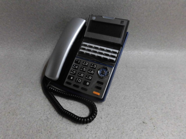 Ω 保証有 ZK1★18120★TD710(K) サクサ SAXA プラティア PLATIA 多機能電話機 領収書発行可能 仰天価格 同梱可 中古ビジネスホン 16年製_画像2
