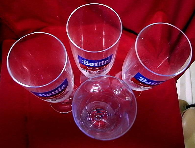 アサヒ生ビール<ボトル>ビルスナーグラス 未使用品_画像5