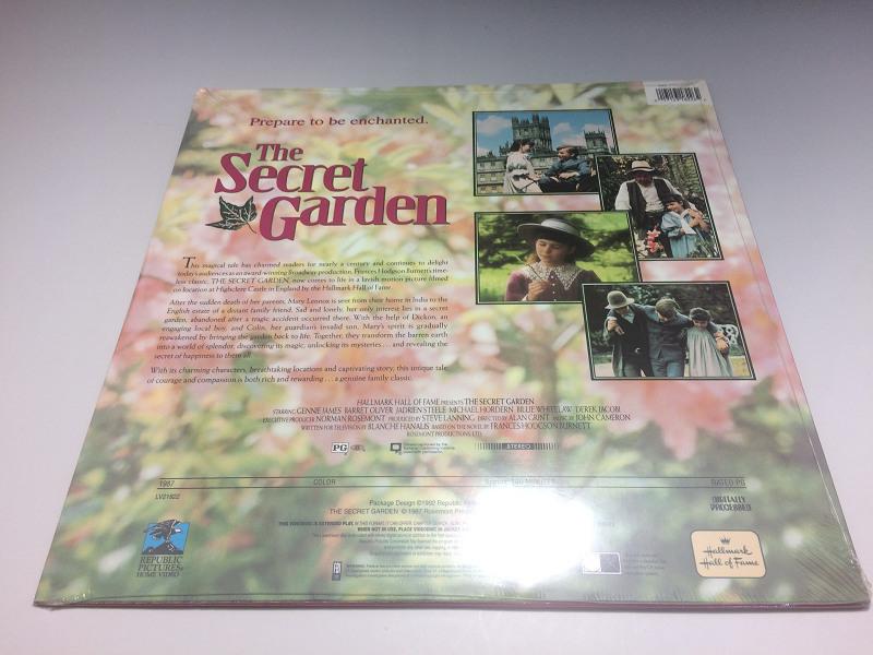 ★新品未開封★ The Secret Garden ◆LD(レーザーディスク) 輸入盤_画像2