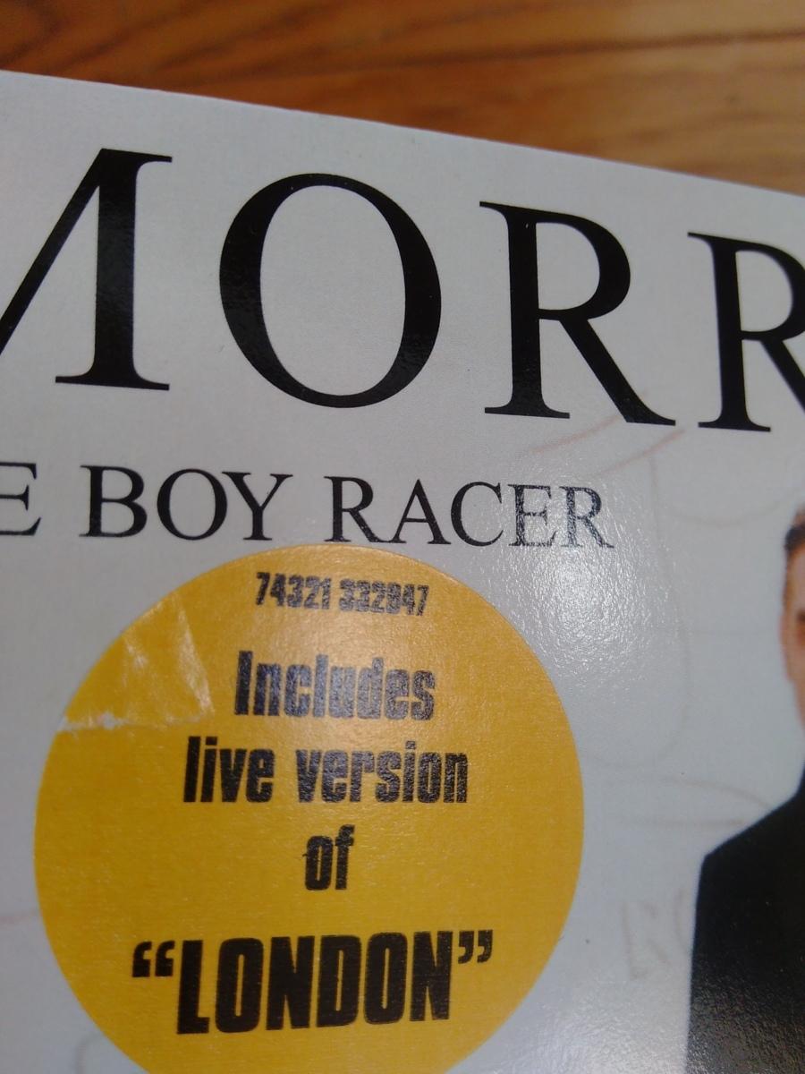 *即決* MORRISSEY / The Boy Racer ・ London (Live) UK Original盤 EP 再生確認済 モリッシー smiths スミス_画像2
