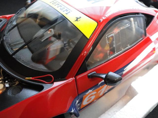 ホットウィール エリートシリーズ 1/18 フェラーリ458イタリア GT2 2012LeMans AF CORSE_画像3
