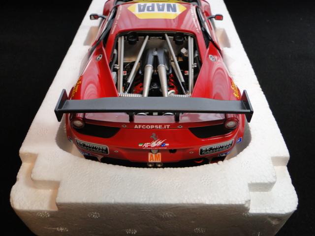ホットウィール エリートシリーズ 1/18 フェラーリ458イタリア GT2 2012LeMans AF CORSE_画像5