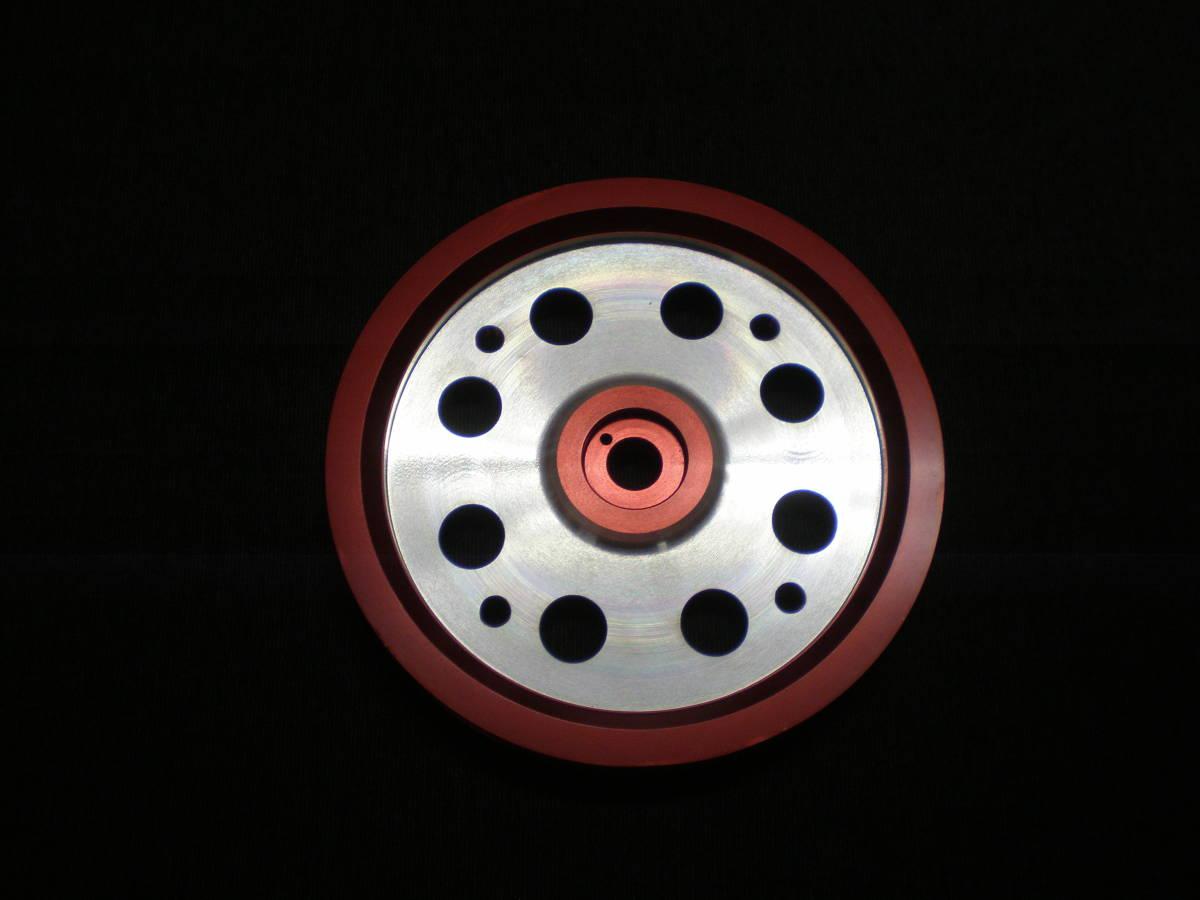 希少 1NZ 2NZ レーシング クランク プーリー ヴィッツ 検 NCP プロボックス NCP60 ist Toyota Vios 1NZ-FE 1NZFE 4 Throttle TRD 無限 _画像3