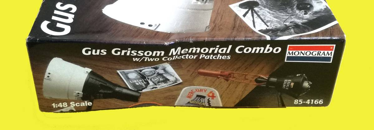 Gus Grissom Memorial Combo(マーキュリー&ジェミニ 1/48 MONOGRAM)_画像5