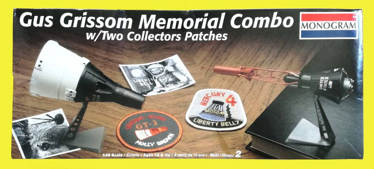 Gus Grissom Memorial Combo(マーキュリー&ジェミニ 1/48 MONOGRAM)