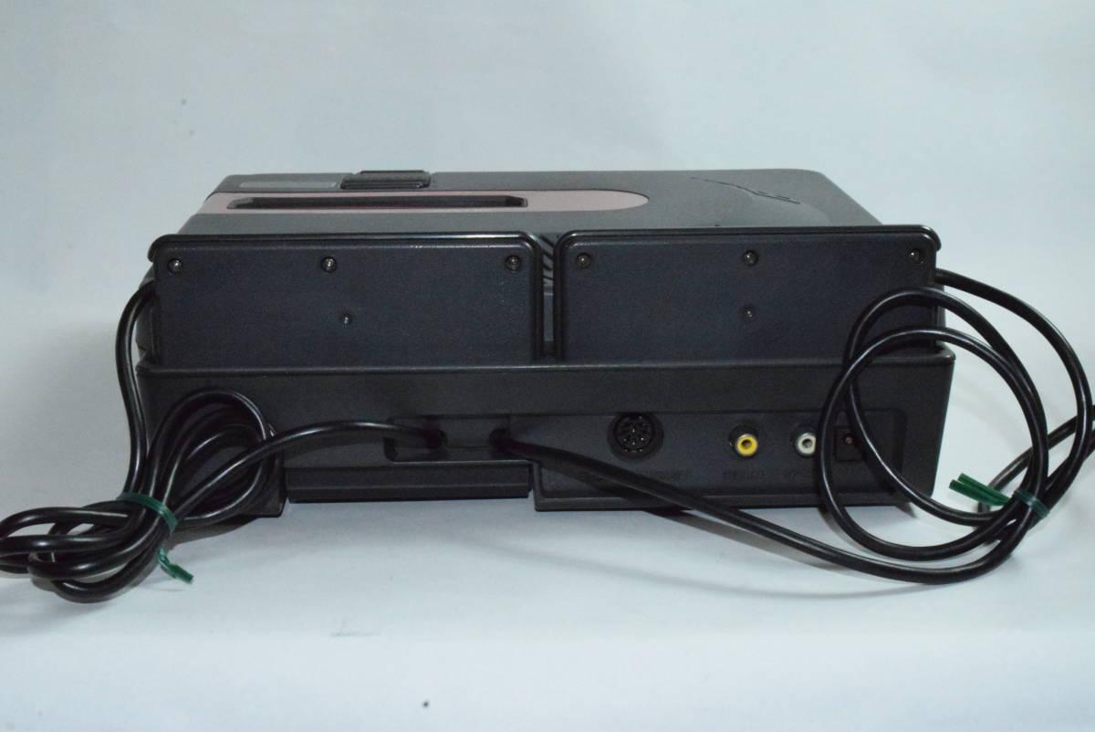 SHARP AN-500B ツインファミコン 本体 中古 カセット ディスク付き_画像5
