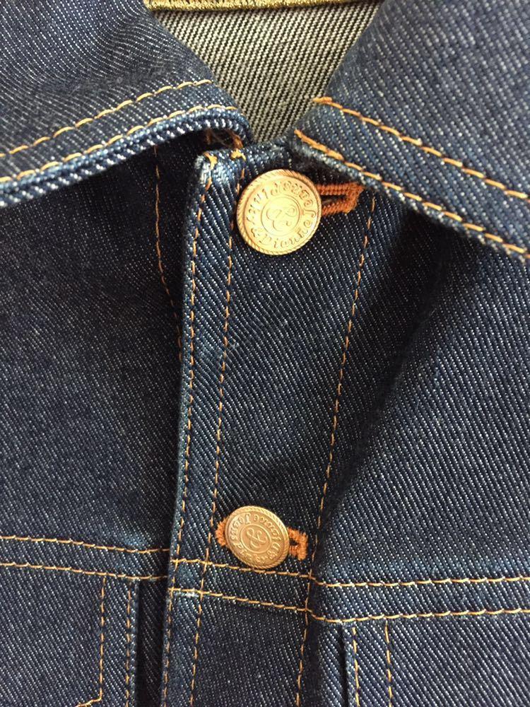 中古 Pinky&Dianne ピンキー&ダイアン デニムジャケット ジージャン 日本製 サイズ38_画像3