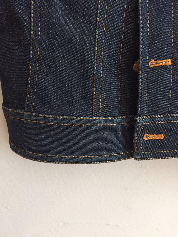 中古 Pinky&Dianne ピンキー&ダイアン デニムジャケット ジージャン 日本製 サイズ38_画像5