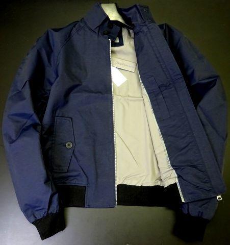 新品 カルバンクラインジーンズ 大人気 G-9 スイングトップ ブルゾン L 紺 ジップ ジャケット Calvin Klein Jeans メンズ 男性 紳士用_画像2