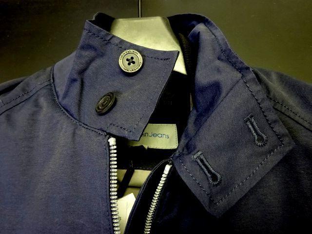 新品 カルバンクラインジーンズ 大人気 G-9 スイングトップ ブルゾン L 紺 ジップ ジャケット Calvin Klein Jeans メンズ 男性 紳士用_画像3