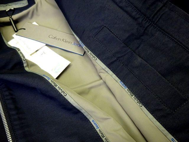 新品 カルバンクラインジーンズ 大人気 G-9 スイングトップ ブルゾン L 紺 ジップ ジャケット Calvin Klein Jeans メンズ 男性 紳士用_画像7