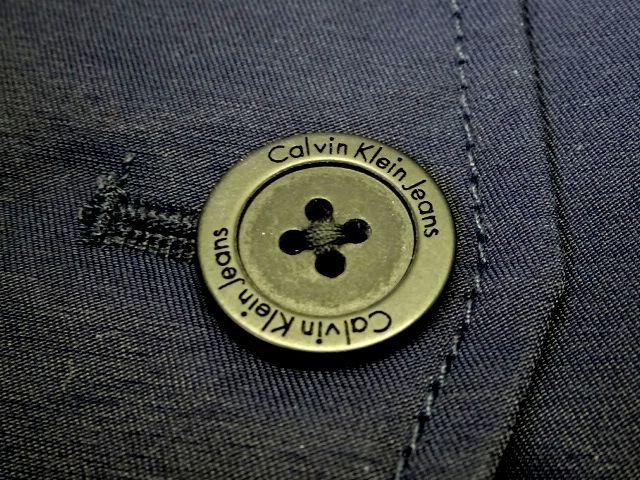 新品 カルバンクラインジーンズ 大人気 G-9 スイングトップ ブルゾン L 紺 ジップ ジャケット Calvin Klein Jeans メンズ 男性 紳士用_画像6