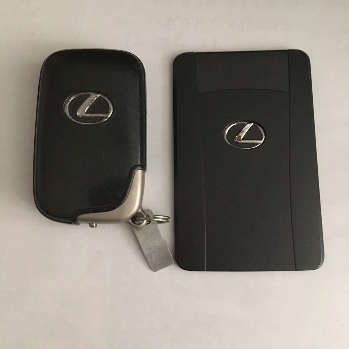 LEXUS純正スマートキー カードキー レクサスIS250 IS350 GSE21 GSE25 GSE20 271451-5360 R001YUA1019_画像1