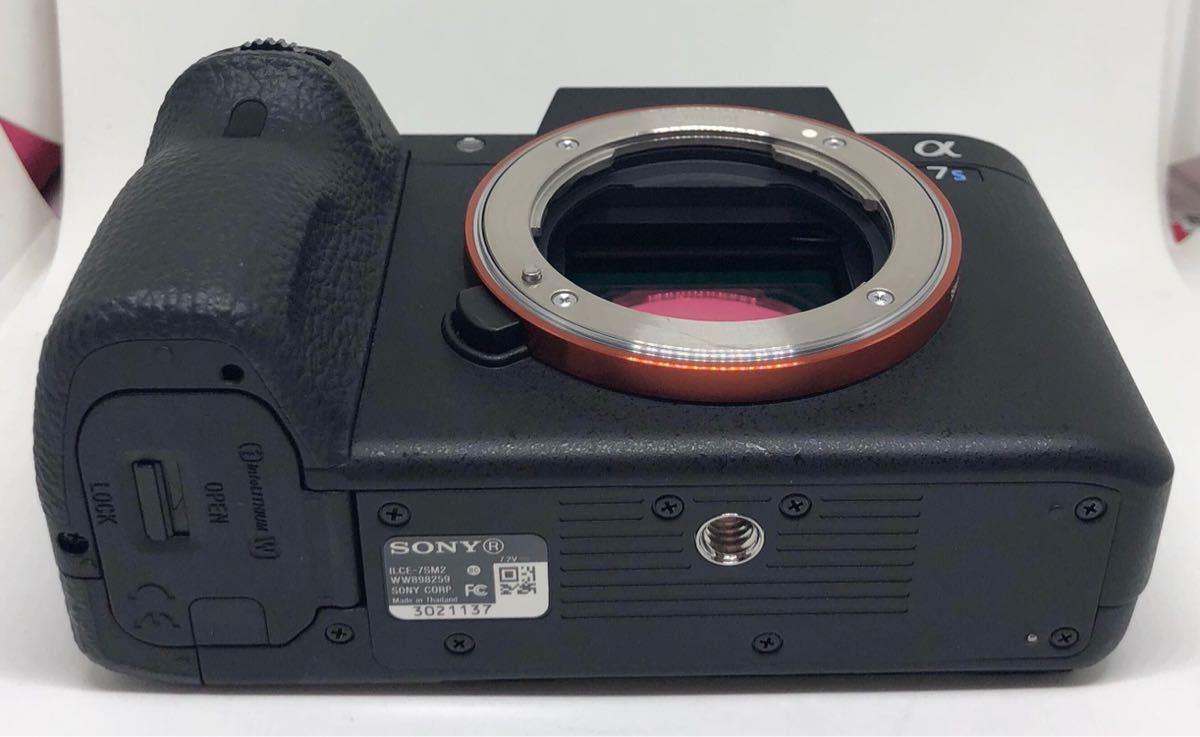 【訳あり】SONY フルサイズミラーレス一眼カメラ「α7SII」ボディSONY ILCE-7SM2_画像4