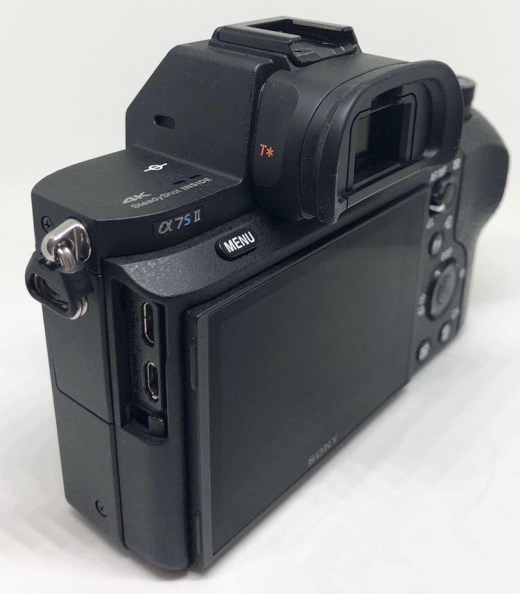 【訳あり】SONY フルサイズミラーレス一眼カメラ「α7SII」ボディSONY ILCE-7SM2_画像2