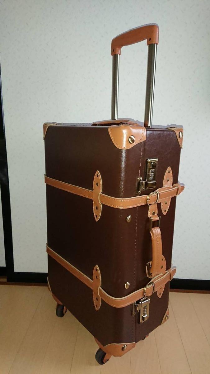 グローブトロッター 風 キャリーケース*ABS芯材使用.スーツケース.キャリーバッグ.