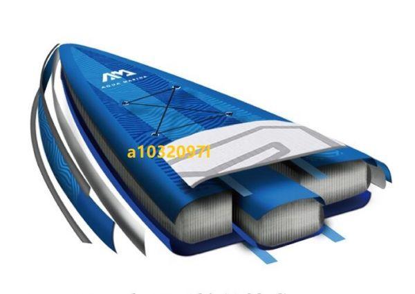 新入荷!超稀少! 新品 超軽いsupスタンドアップサーフボード滑り止め踵 ウォーターシュート安全 強荷重 上質 水上スキー PT1400_画像5