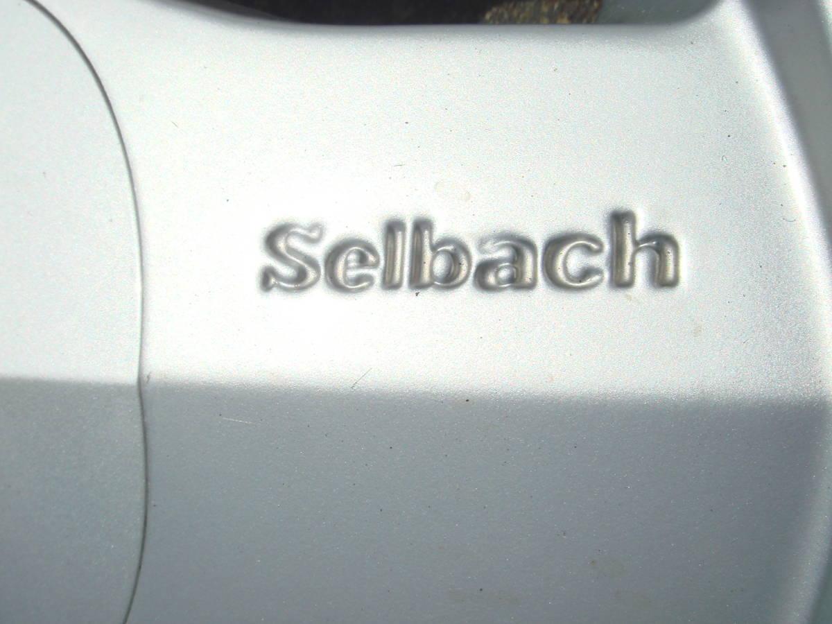 13インチ セルバッハ Selbach アルミホイール PCD100/110/114.3 5J+45 中古 ジャンク_画像5