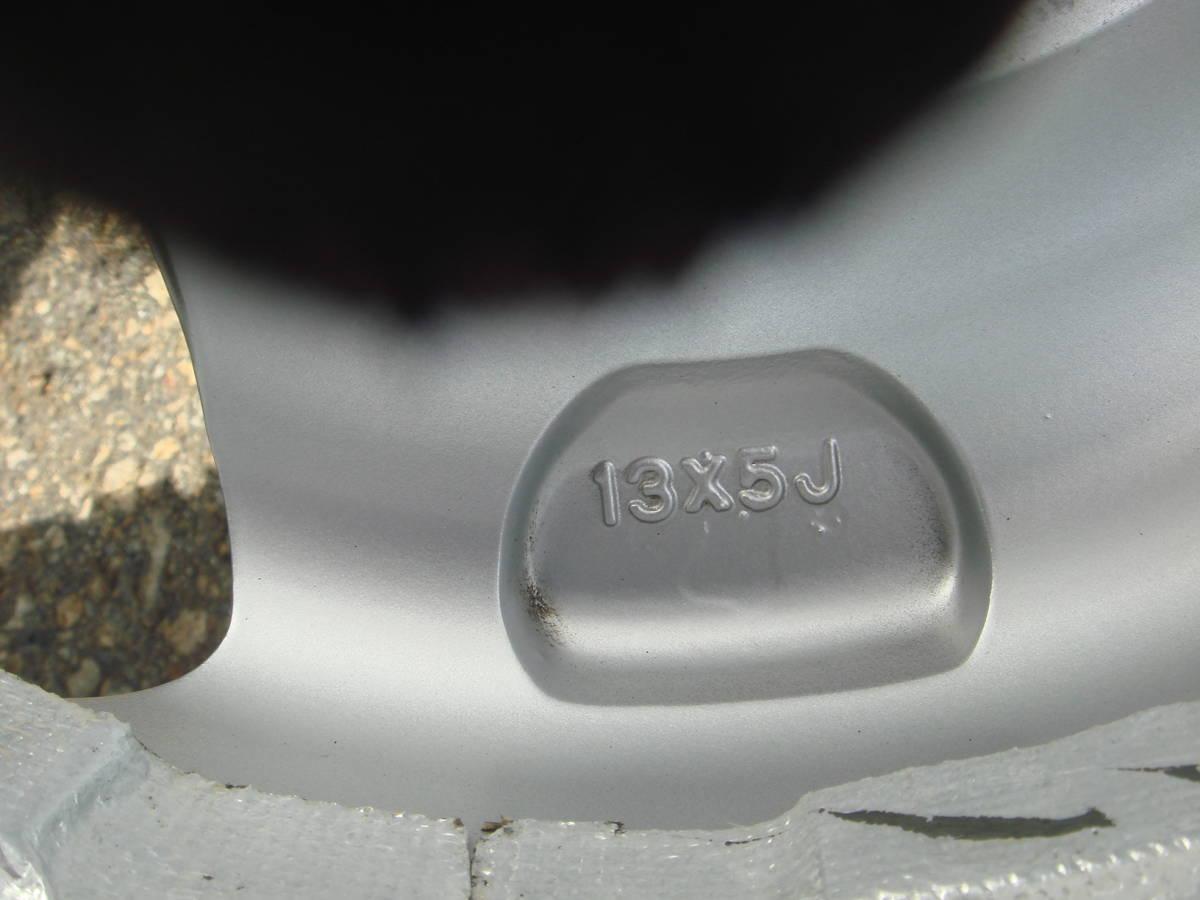 13インチ セルバッハ Selbach アルミホイール PCD100/110/114.3 5J+45 中古 ジャンク_画像4