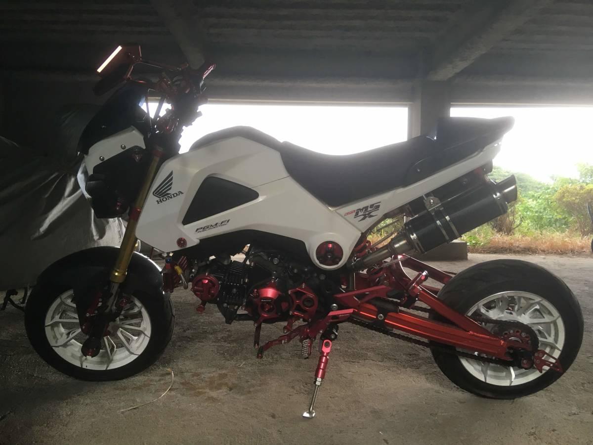 「グロムカスタム 検索原付バイク125cc中古車体ロンスイgrom msx」の画像3