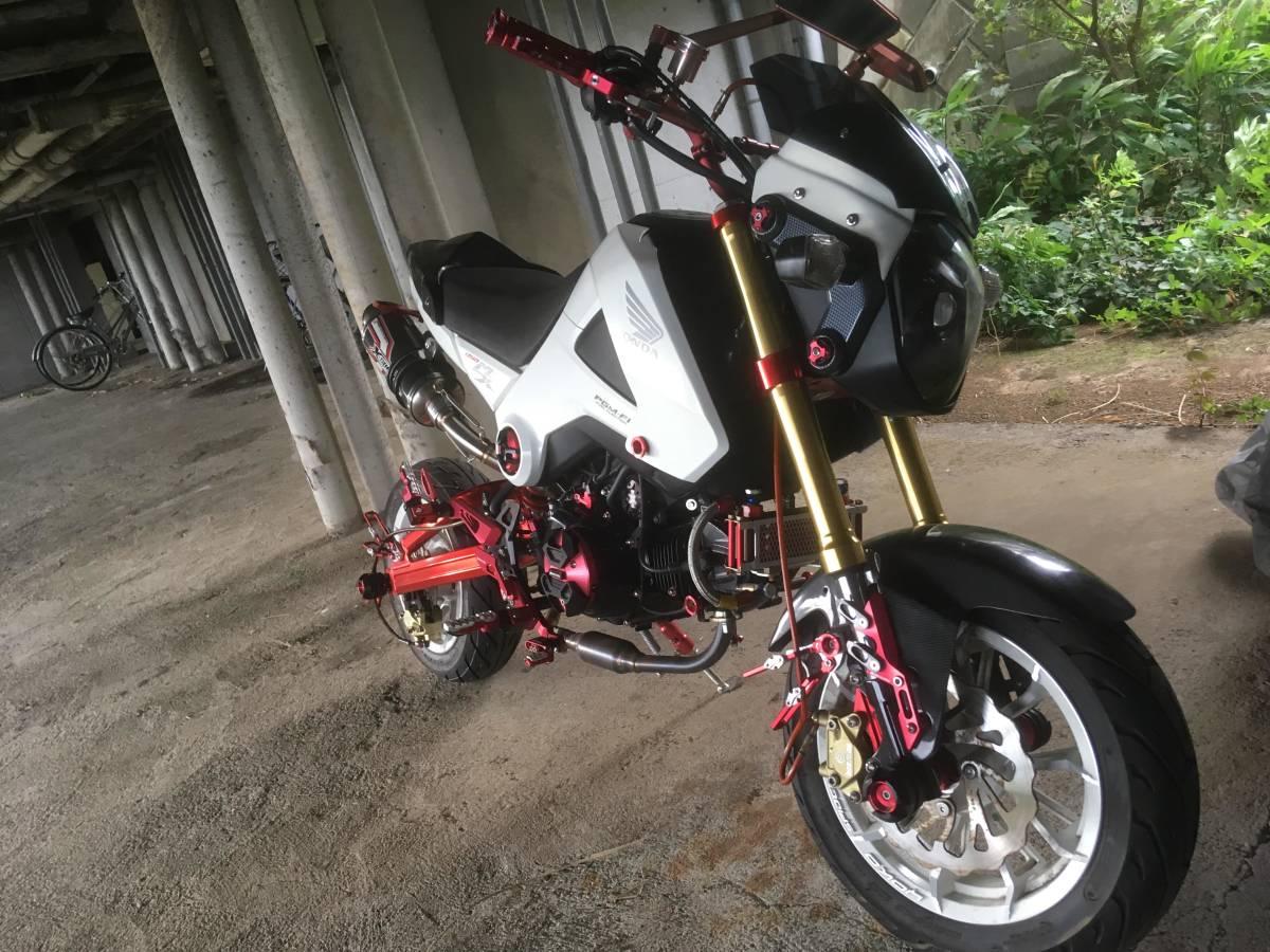 「グロムカスタム 検索原付バイク125cc中古車体ロンスイgrom msx」の画像2