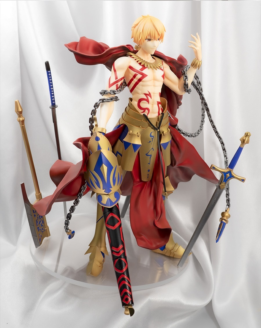 グリズリーパンダ製ガレージキット ギルガメッシュ 塗装完成品 Fate/Grand Order_画像6