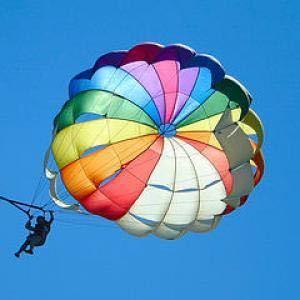 「ビーチの視線を独占!注目度200%!パラセールで空中遊覧しませんか?ジェットもOK, 2人/3人乗りもあります!」の画像3